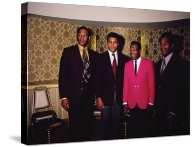 Muhammad Ali and Famous Athletes, January 1971-Leroy Patton-Stretched Canvas Print