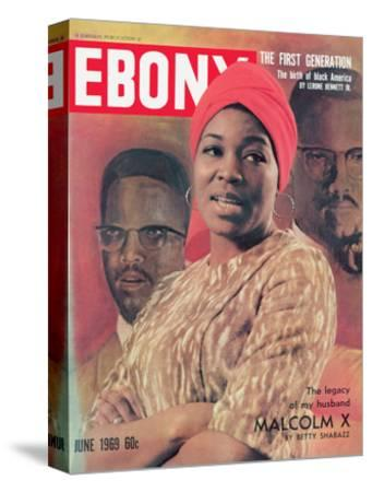 Ebony June 1969-Moneta Sleet Jr.-Stretched Canvas Print