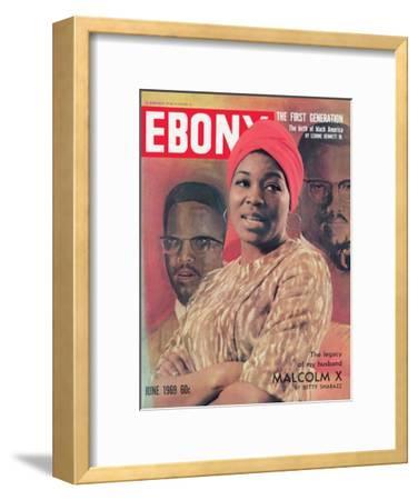 Ebony June 1969-Moneta Sleet Jr.-Framed Photographic Print