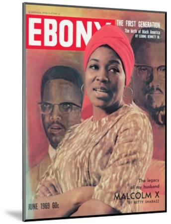 Ebony June 1969-Moneta Sleet Jr.-Mounted Photographic Print