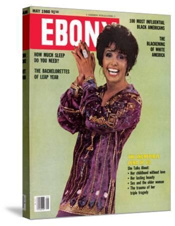 Ebony May 1980-Moneta Sleet Jr.-Stretched Canvas Print