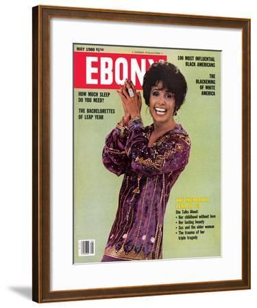 Ebony May 1980-Moneta Sleet Jr.-Framed Photographic Print