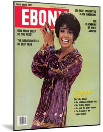 Ebony May 1980-Moneta Sleet Jr.-Mounted Photographic Print