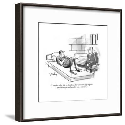 """Your Honor, I object to the tactics of Lattimore, Finchley, Wilburn & Hat?"" - New Yorker Cartoon-Peter Arno-Framed Premium Giclee Print"