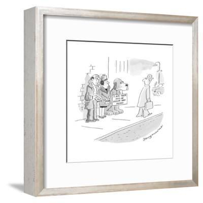 I ate them out of house and home.' - Cartoon-Jerry Marcus-Framed Premium Giclee Print