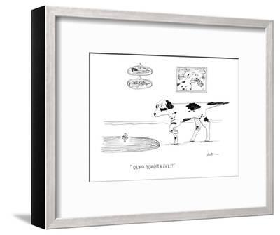 """""""Oh will you get a life?!"""" - Cartoon-Mary Lawton-Framed Premium Giclee Print"""