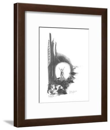 """Here comes the part I like!"" - New Yorker Cartoon-E. Simms Campbell-Framed Premium Giclee Print"