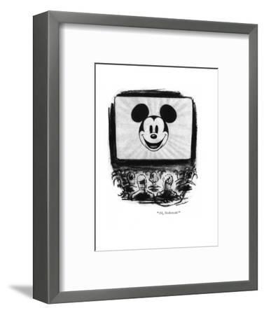 """Ah, Stokowski!"" - New Yorker Cartoon-Leonard Dove-Framed Premium Giclee Print"