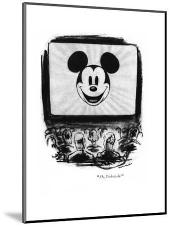 """Ah, Stokowski!"" - New Yorker Cartoon-Leonard Dove-Mounted Premium Giclee Print"