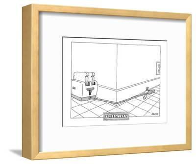 Toast Quest! - New Yorker Cartoon-Jack Ziegler-Framed Premium Giclee Print
