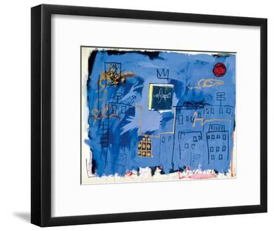 Untitled, 1981-Jean-Michel Basquiat-Framed Giclee Print
