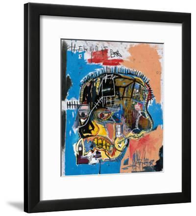 Untitled, 1981 (Basquiat Skull)-Jean-Michel Basquiat-Framed Premium Giclee Print
