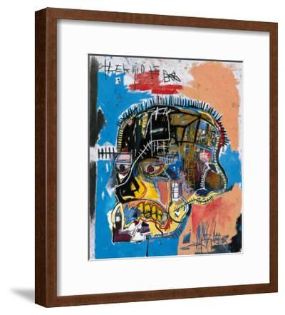Untitled, 1981 (Basquiat Skull)-Jean-Michel Basquiat-Framed Giclee Print