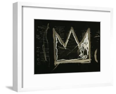 Tuxedo, 1982-83(detail)-Jean-Michel Basquiat-Framed Giclee Print