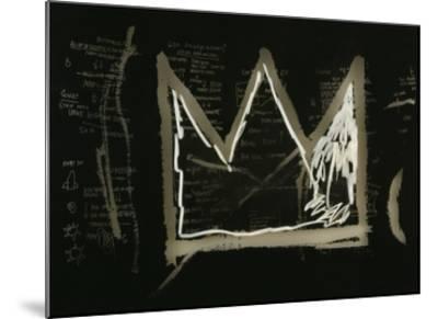 Tuxedo, 1982-83(detail)-Jean-Michel Basquiat-Mounted Giclee Print