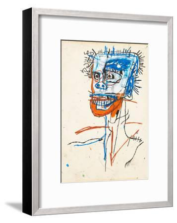 Untitled (Head of Madman), 1982-Jean-Michel Basquiat-Framed Giclee Print