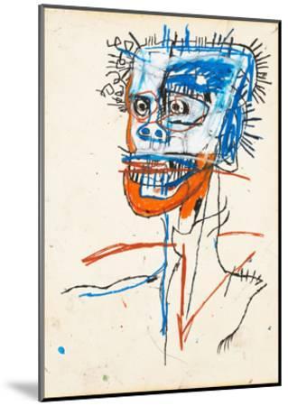Untitled (Head of Madman), 1982-Jean-Michel Basquiat-Mounted Giclee Print