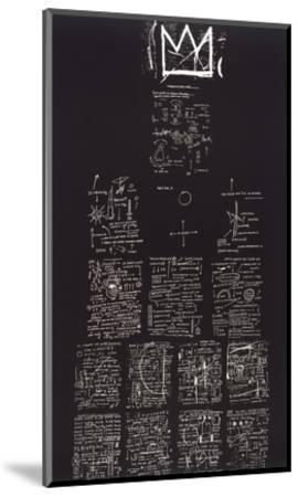 Tuxedo, 1982-83-Jean-Michel Basquiat-Mounted Giclee Print