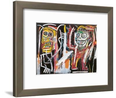 Dustheads, 1982-Jean-Michel Basquiat-Framed Giclee Print