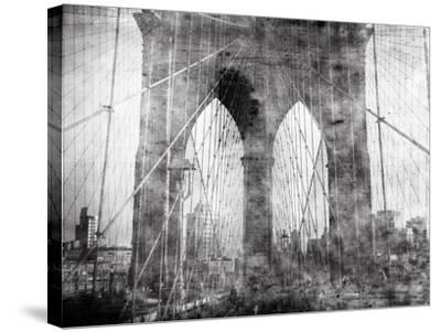 Brooklyn Bridge in Verichrome-Evan Morris Cohen-Stretched Canvas Print