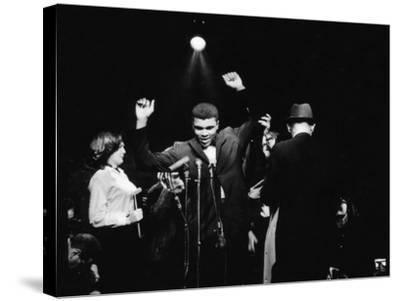 Muhammad Ali-G. Marshall Wilson-Stretched Canvas Print