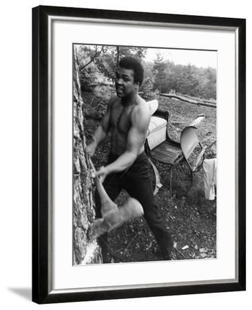 Muhammad Ali - 1974-Leroy Patton-Framed Photographic Print
