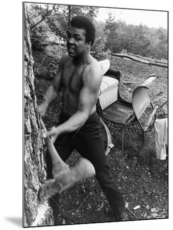 Muhammad Ali - 1974-Leroy Patton-Mounted Photographic Print