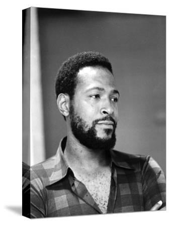 Marvin Gaye - 1974-G. Marshall Wilson-Stretched Canvas Print