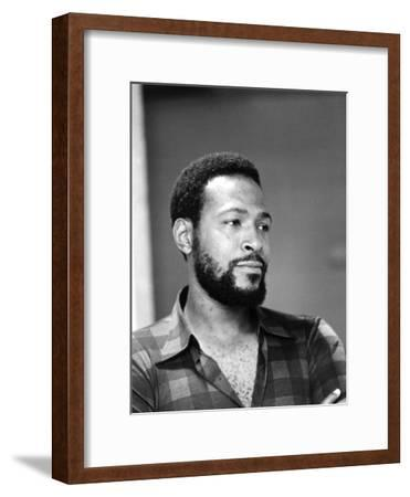 Marvin Gaye - 1974-G. Marshall Wilson-Framed Photographic Print