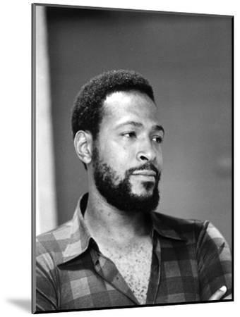 Marvin Gaye - 1974-G. Marshall Wilson-Mounted Photographic Print