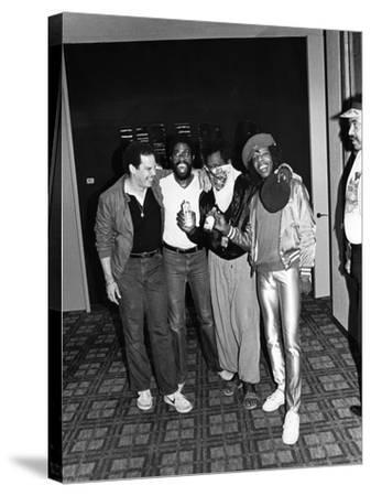 Sly Stone - 1981-Norman Hunter-Stretched Canvas Print