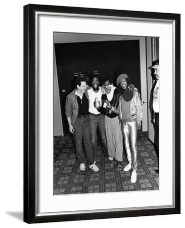 Sly Stone - 1981-Norman Hunter-Framed Photographic Print