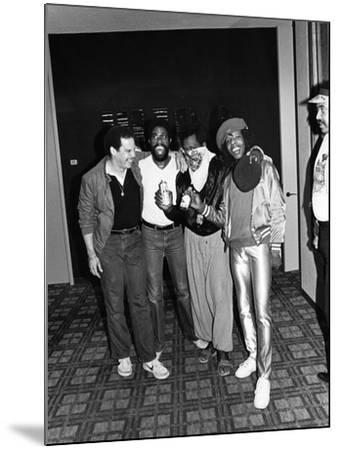 Sly Stone - 1981-Norman Hunter-Mounted Photographic Print
