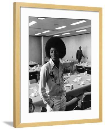 Michael Jackson-Norman Hunter-Framed Photographic Print