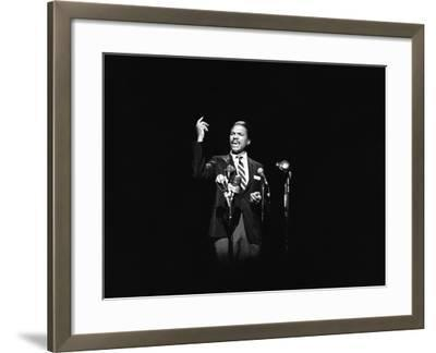 Billy Dee Wiliams - 1976-Norman Hunter-Framed Photographic Print