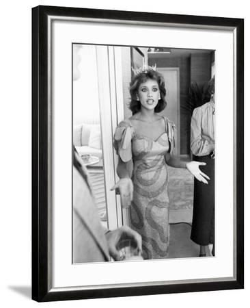 Vanessa Williams -1984-G. Wilson Wilson-Framed Photographic Print