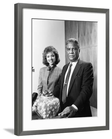 Vanessa Williams -1983-Vandell Cobb-Framed Photographic Print