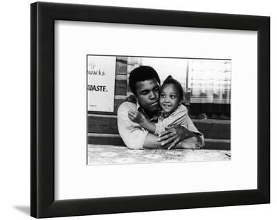 Muhammad Ali; Maryum Ali - 1974-Leroy Patton-Framed Photographic Print