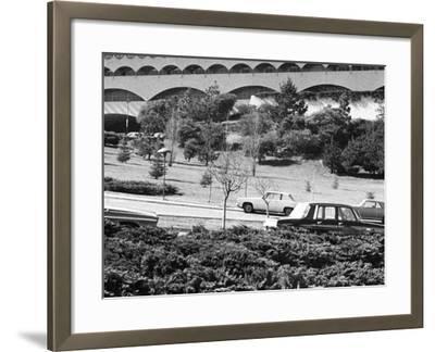 Angela Davis - 1971-Charles Sanders-Framed Photographic Print