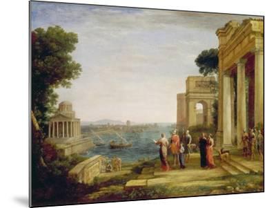 Dido and Aeneas, 1675/1676-Claude Lorraine-Mounted Giclee Print