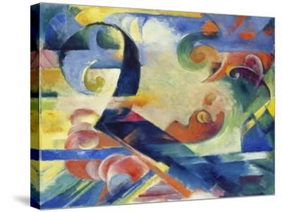 Broken Forms, 1914-Franz Marc-Stretched Canvas Print