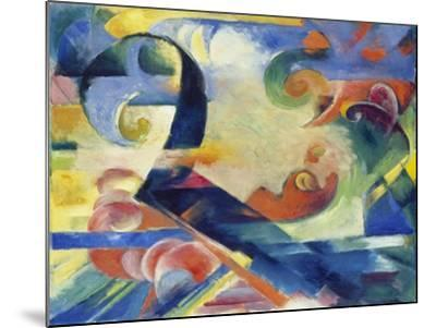 Broken Forms, 1914-Franz Marc-Mounted Giclee Print