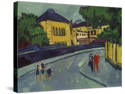 Dresden, Friedrichstadt, 1909-Ernst Ludwig Kirchner-Stretched Canvas Print