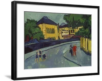 Dresden, Friedrichstadt, 1909-Ernst Ludwig Kirchner-Framed Giclee Print