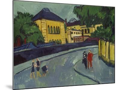 Dresden, Friedrichstadt, 1909-Ernst Ludwig Kirchner-Mounted Giclee Print