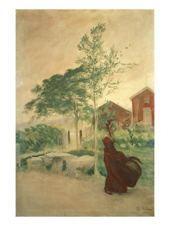 Stina, 1895-Carl Larsson-Framed Giclee Print