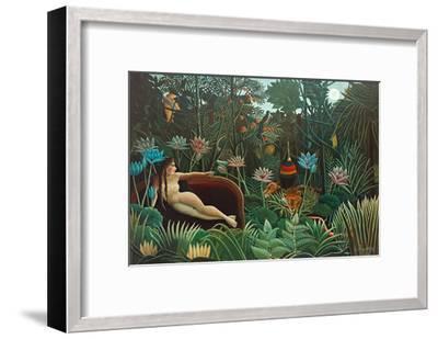 The Dream, 1910-Henri Rousseau-Framed Premium Giclee Print