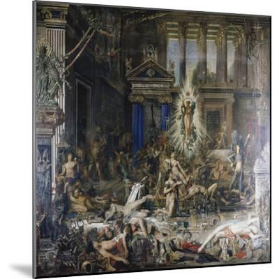 Les Pretendants. Started in 1852-Gustave Moreau-Mounted Giclee Print