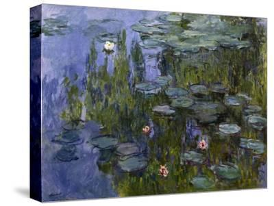 Water Lilies (Nympheas), 1918/1921-Claude Monet-Stretched Canvas Print
