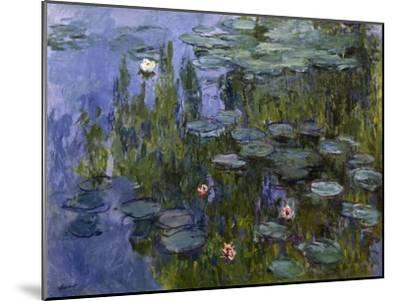 Water Lilies (Nympheas), 1918/1921-Claude Monet-Mounted Giclee Print